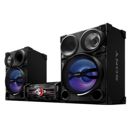 Sony DJ Shake Sound System (LBTSH2000)2000 Watts and 3-way Bass Reflex Speaker System Multi-colored LEDs Dual USB Ports DJ Sound Effects