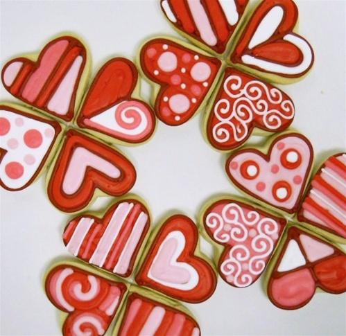 Trad Valentines Cookies