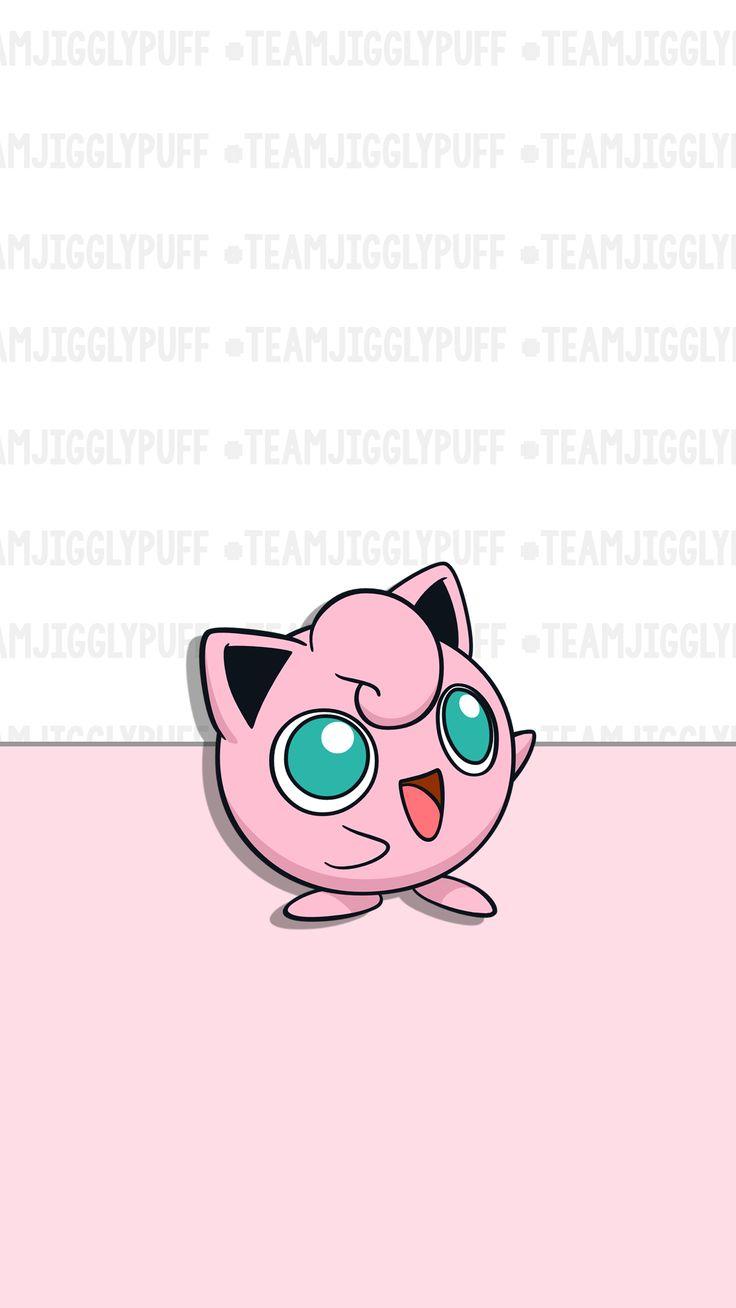 Pokemon, Pokemon Go, pink, wallpaper, hd, cute, background, iPhone, jigglypuff, jiggly puff