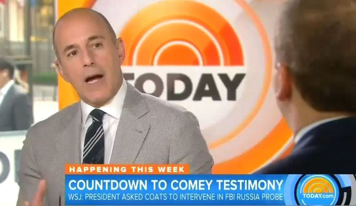 Matt Lauer: Trump Guilty of 'Emotional Definition' of Obstruction of Justice?