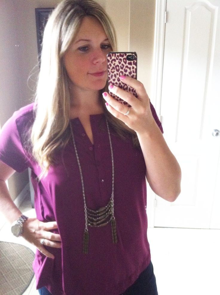 Long Chain and bead necklace #goeswitheverything #handcraftedbyjenniferhall
