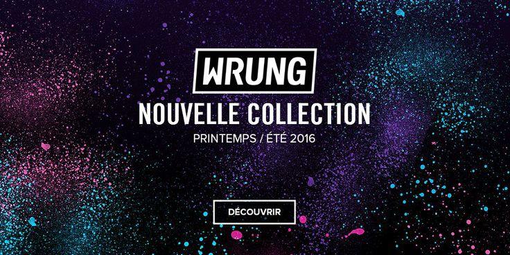 La marque Wrung est désormais en vente à PLAY Skateshop Béziers et sur la boutique en ligne. WRUNG Paris est un créateur de vêtements en constante évolution depuis 1995, un pilier du Streetart français qui s'inspire des graffitis, d'art contemporain et de cultures émergentes.