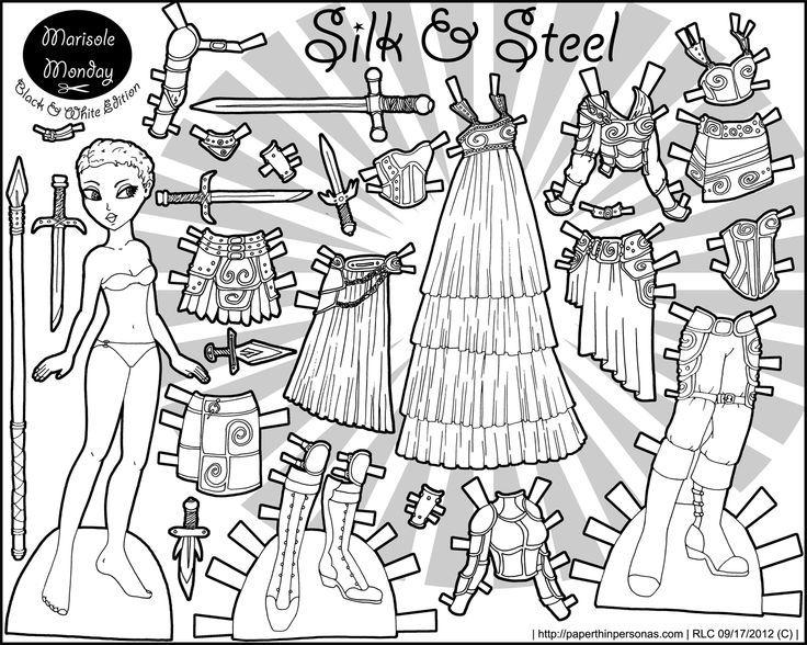 111 best images about Marisol Monday Paper Dolls in Black ...