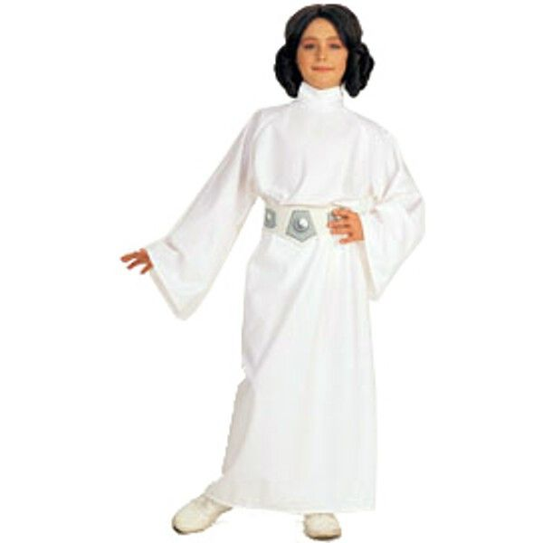 how to make a toddler princess leia costume