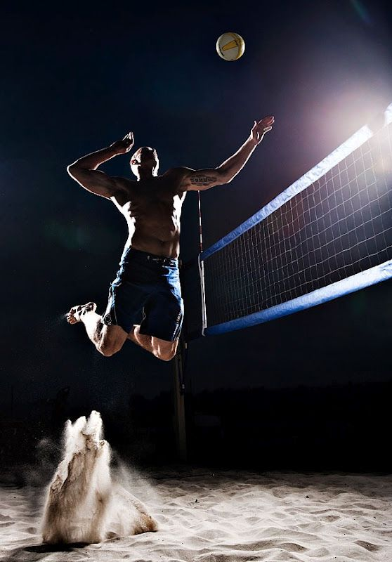 Tim Tadder photography - beach volleyball at it's finest