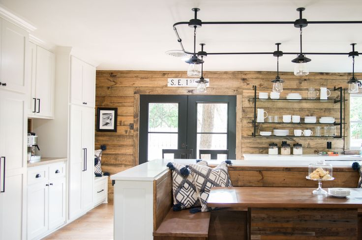 The Mid Century Modestly Priced House   Season 4   Fixer Upper   Magnolia Market   Kitchen   Chip & Joanna Gaines   Waco, TX