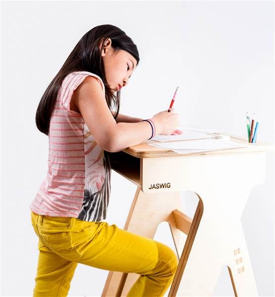 Standing desks for children