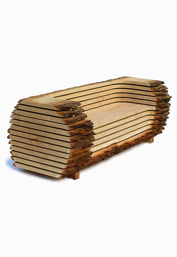 Log Bench | Sustainable Wood Gifts australianwoodwork.com.au