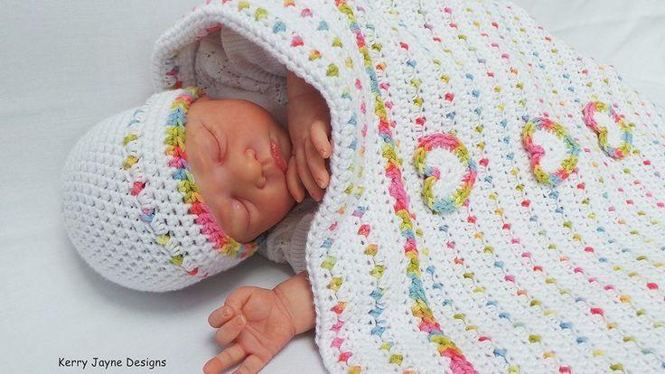 Jelly Tots Blanket Crochet Pattern