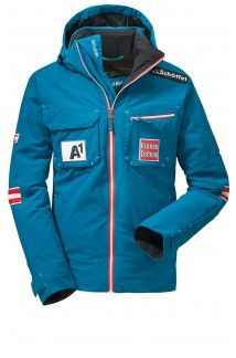 Austrian Ski Jacket (Junior Size) It is a challenge to find a jacket that does it all. The solution is the Austrian Ski Federation Haakon jacket by Schoffel. With the relaxed freestyle fit, it offers you the same exactly the kind of functionality that is required. Waterproof, breathable and packed with technical features for your comfort and protection. Your adventure starts here!