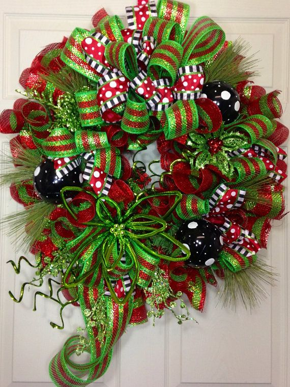 Wreath Design Ideas awesome diy holiday wreaths Christmas Wreath By Williamsfloral On Etsy
