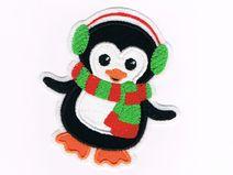 Pinguin Aufnäher Applikation