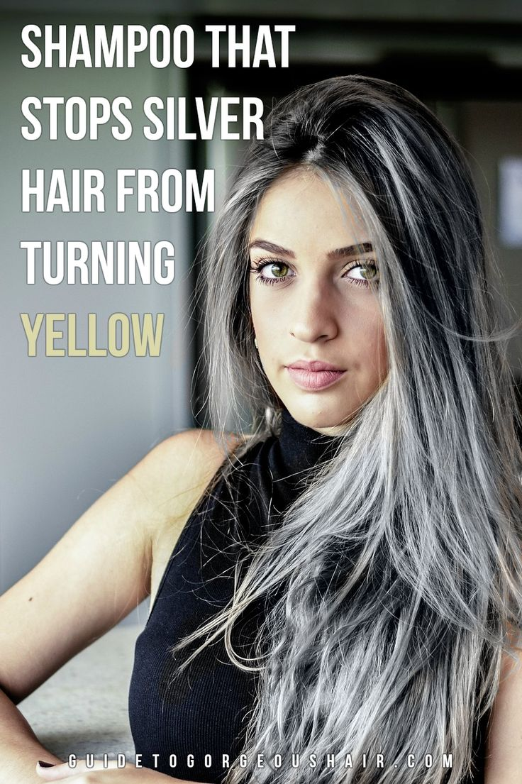Keep your silver/gray hair nice and bright!