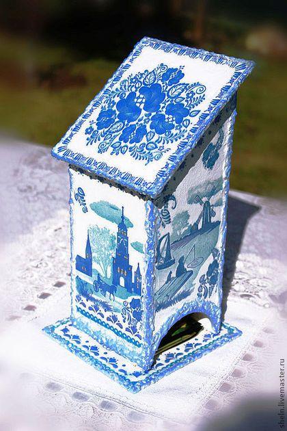 Кухня ручной работы. Ярмарка Мастеров - ручная работа Чайный домик  Голубые просторы. Handmade.