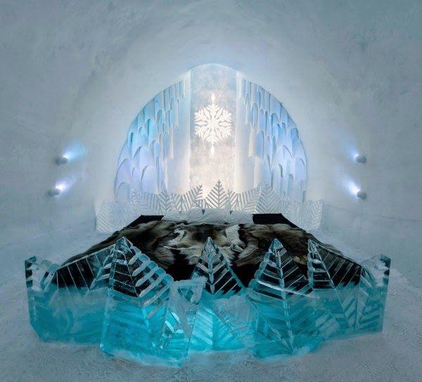 Ultra Tendencias: El Hotel de hielo de Suecia permite a los clientes diseñar sus propias habitaciones