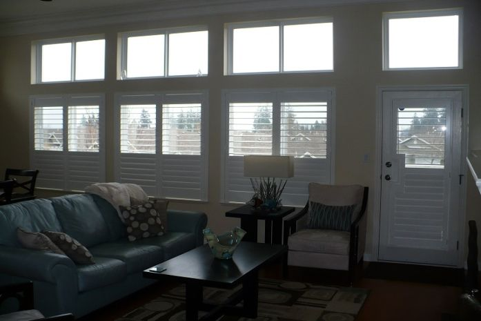 Plantation Shutters add elegance and timeless to any room.