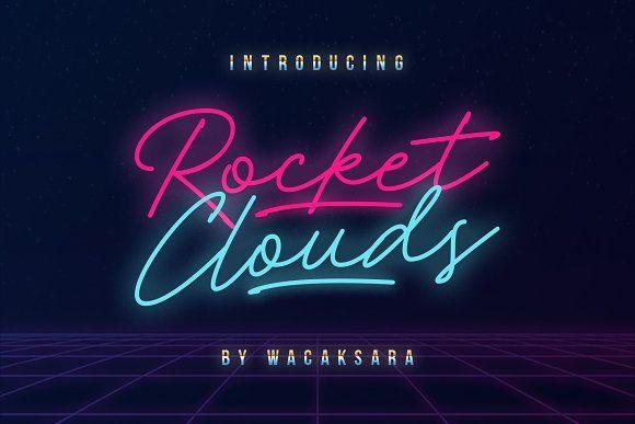 Rocket Clouds Free Fonts For Designers Best Free Fonts Lettering