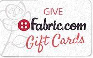 Fabric.com Gift Card