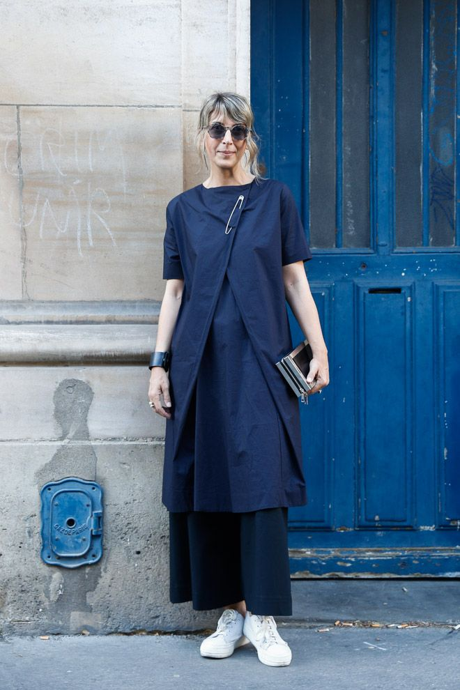ストリートスナップパリ - Marienpelleさん   Fashionsnap.com