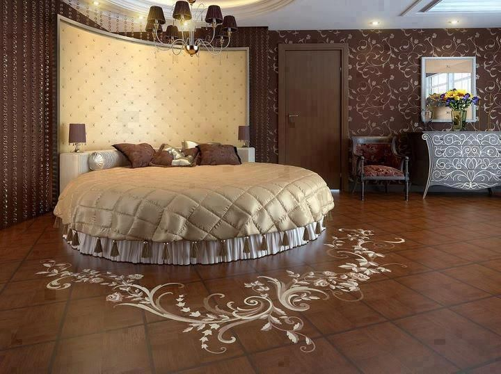 117 Best Round Bed Images On Pinterest Round Beds Bedrooms And  - Round Beds