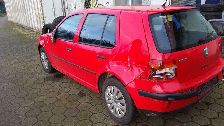 VW Golf 4 Automatik 1,9 TDI / HU/AU 112018 / 156489 km / Unfall Fahrzeug