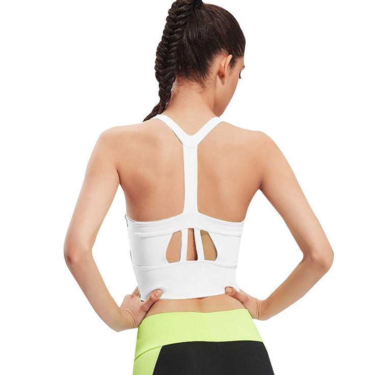 Women Vest Sports Bra Running Gym Padded Shakeproof Push Up Top Bras Female Fitness Wear Yoga Crop Tops Underwear Brassiere WX11 ** Read more at the image link.