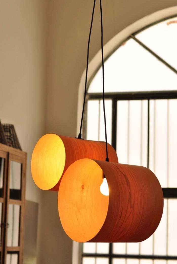 PVC Leuchte: lernen, wie man kreative Modelle macht und