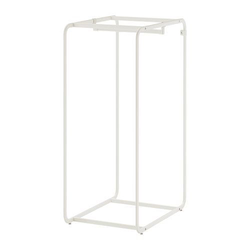 Algot frame with clothes rail ikea algot frame with rod for Hanger for clothes ikea