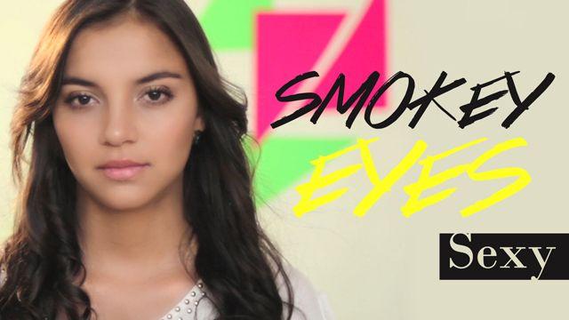 smokey eyes sexy