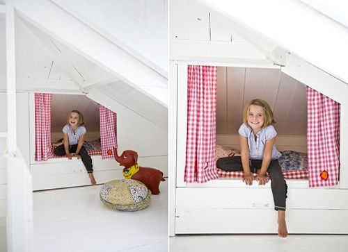 sleeping nooks #slaaphut bedstee bedstede babykamer kinderkamer children kids room nursery