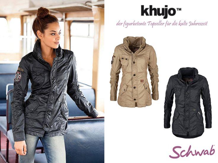 Mit #khujo figurbetonte und warme Jacken für die kalte Zeit des Jahres tragen