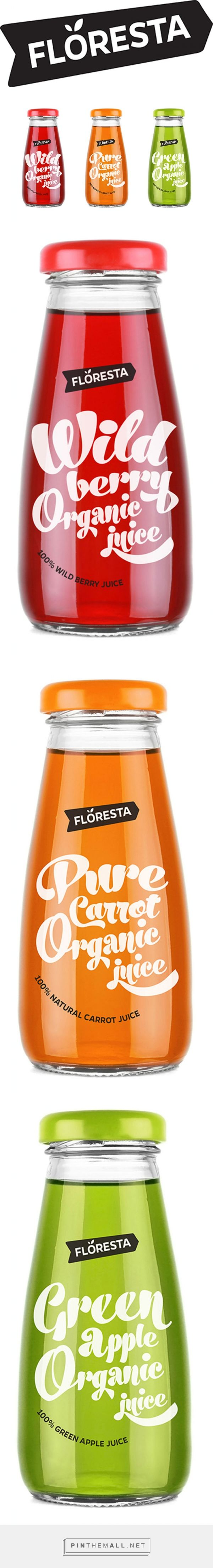Floresta Juices designed by Yuliana Pandelieva. Pin curated by #SFields99 #packaging #design