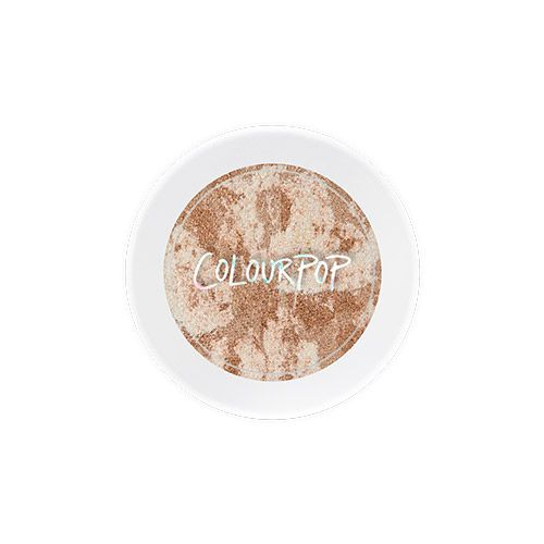 Finding new and, er, unusual ways to design highlighters is the newest pastime for makeup creators everywhere. Don't tell us you already forgot about the rainbow highlighter and the pizza highlighter? Well, ColourPop put a tie-dye highlighter on sale...