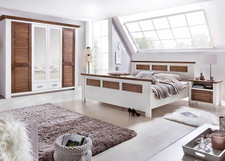 Awesome Home affaire Schlafzimmer Set tlg Laguna wei Kleiderschrank trg Bett cm x Nako FSC zertifiziert Jetzt bestellen unter