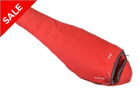 Vango ultralite 350 sleeping bag - A warm, comfortable and lightweight sleeping bag that packs down to a very small size.