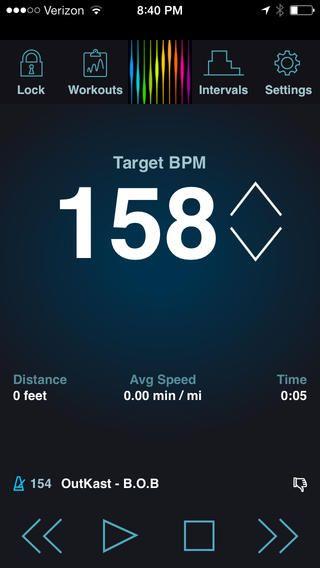 PaceDJ: Music To Drive Your Running Pace pacing Technologies, LLC 제작 내가 활동하는 종류에 맞춰 음악의 비트수 를 조절해 주는 어플 비트