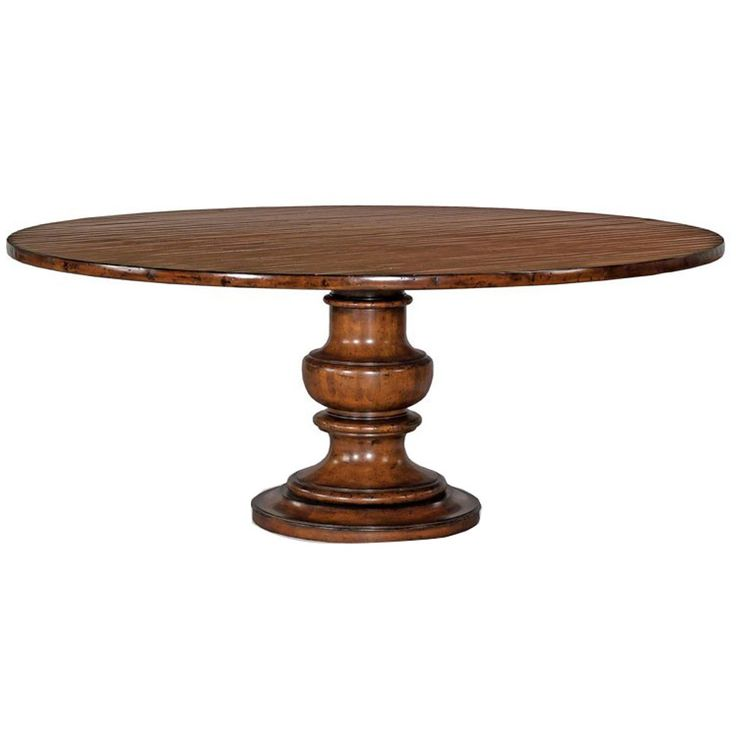 Woodbridge Furniture Santa Fe Tuscan Pedestal Dining Table