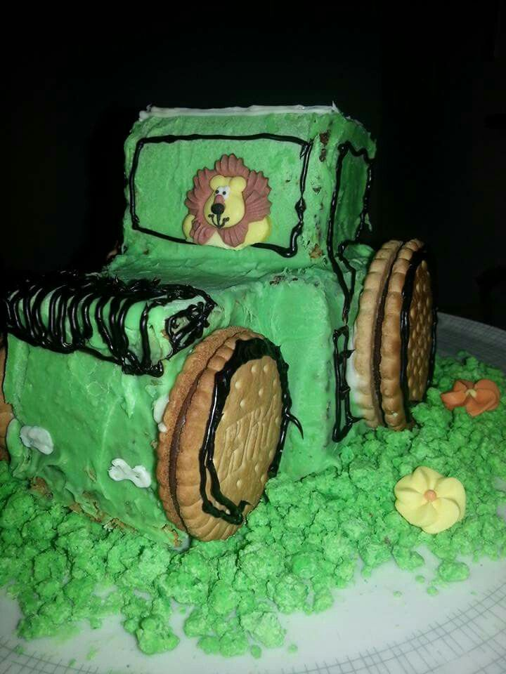Traktor Kuchen