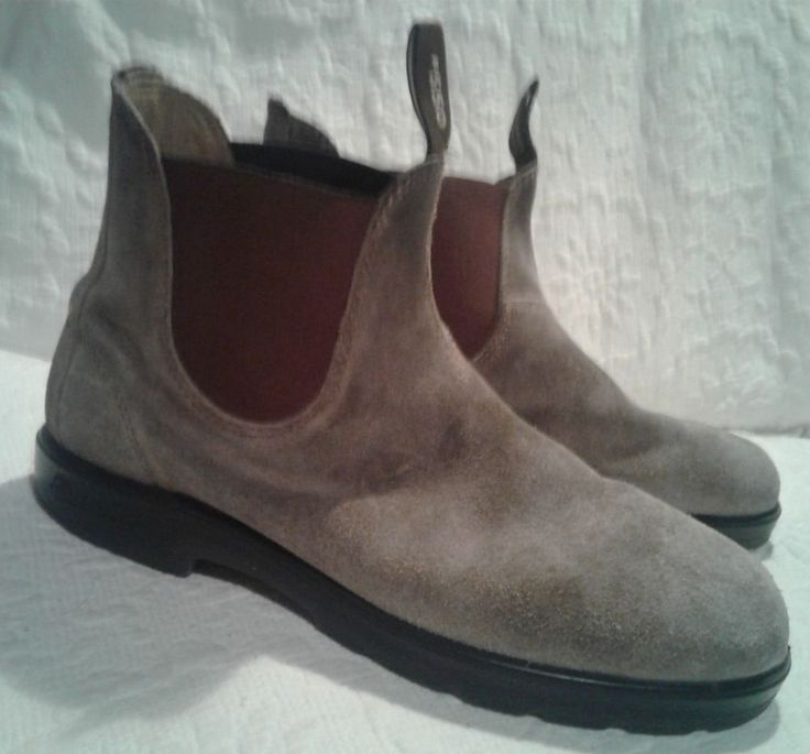 Blundstone Classic 550 Boots Mens Size 10 Suede Leather #Blundstone #AnkleBoots