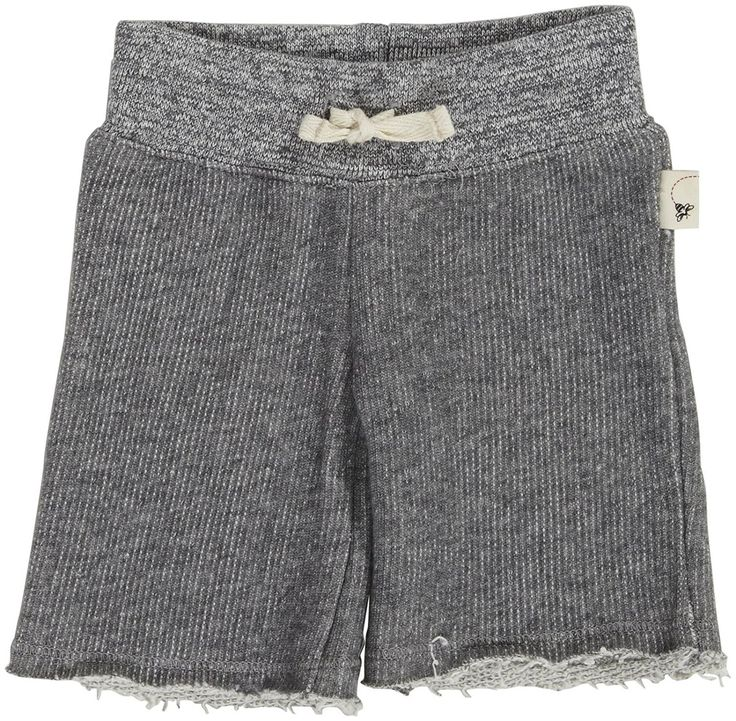 Burt's Bees Baby Baby Girls' Loose Terry Yoga Pants (Baby) - Gray - 3-6 Months