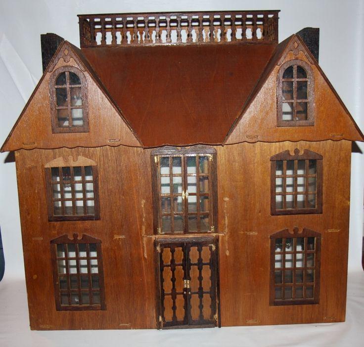 95 Best Antique Dollhouse's Images On Pinterest