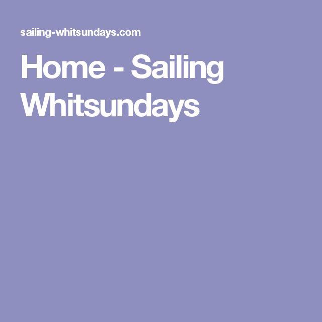 Home - Sailing Whitsundays