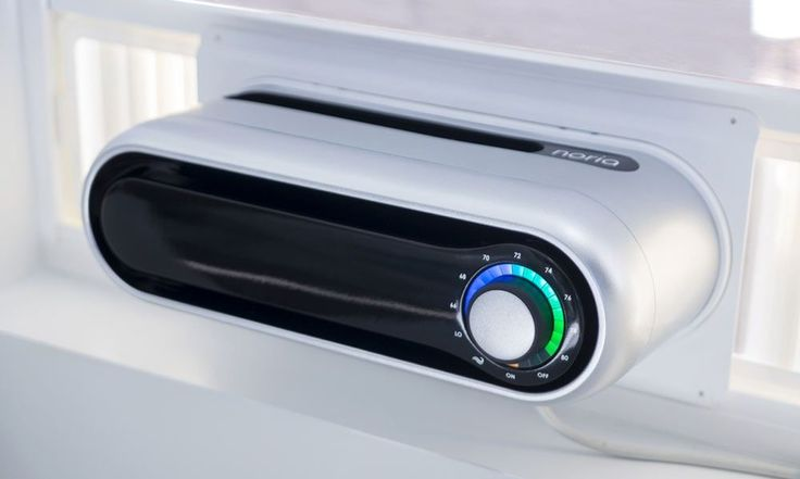 Noria's Air Conditioner Won't Take up Your Whole Window