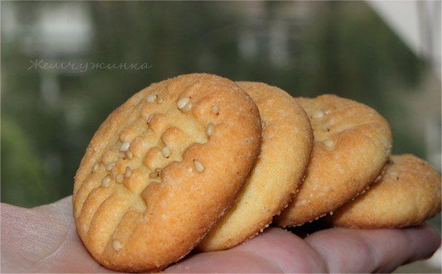 Печенье из рисовой муки