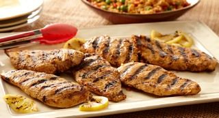 Quick Grilled Chicken: McCormick® Chicken Taco Seasoning Mix combined with lemon juice and oil makes a sensational chicken marinade.