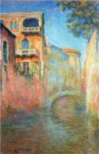 Rio della Salute 03 - Claude Monet
