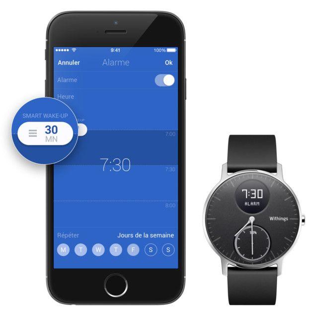 Smart Wake-Up : cette montre Withings vous réveille toujours du bon pied - http://www.frandroid.com/produits-android/accessoires-objets-connectes/montres-connectees-2/421639_smart-wake-up-cette-montre-withings-vous-reveille-du-bon-pied  #Montresconnectées