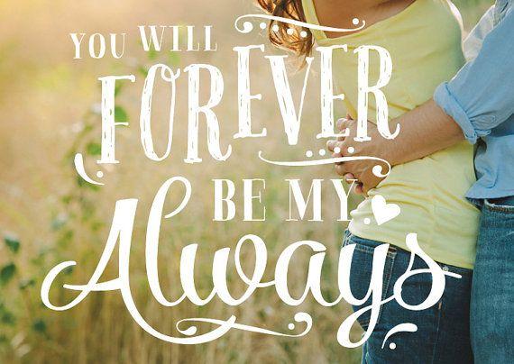 VECTOR Love Wedding Phrase Photo