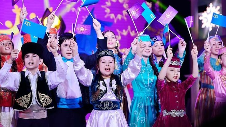 В Крыму прошел финальный концерт детского талант-шоу Canli ses