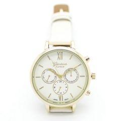 Zegarek biały nowoczesny stylowy kobiecy